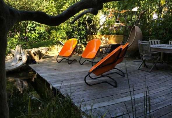 Fauteuil de Jardin Original Taboo en Acier Coloré