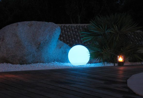 promotions boule lumineuse multicolore