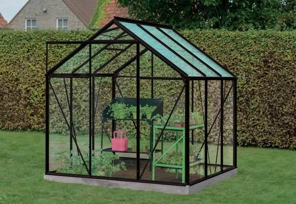 Serre Jardin Aluminium Verre Daisy