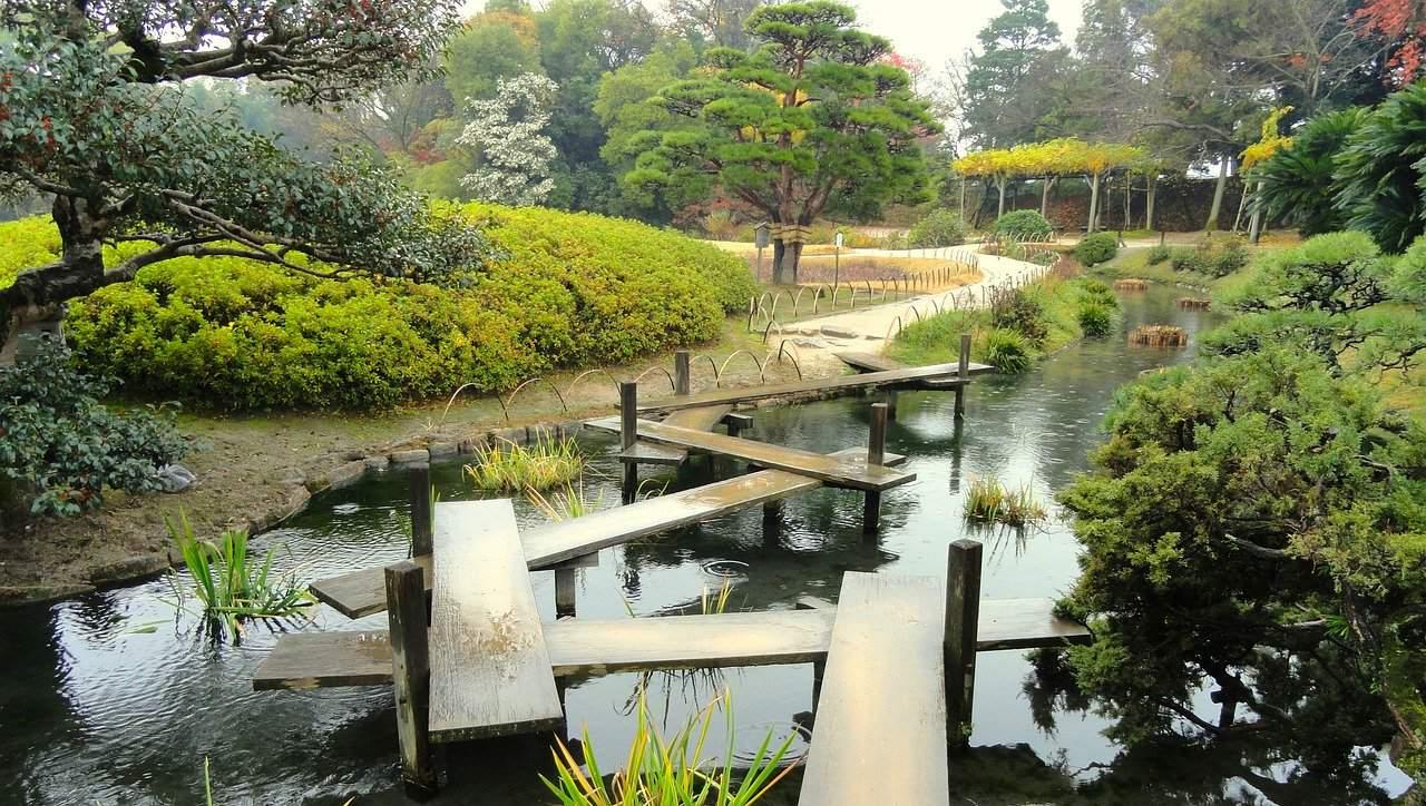 creer et amenager un jardin japonais