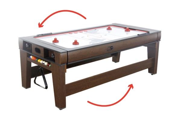 La table réversible Billard – Air hockey