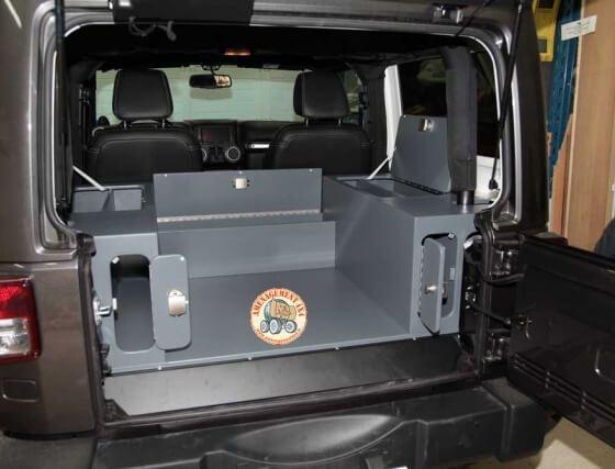 Jeep Wangler gris 3 portes
