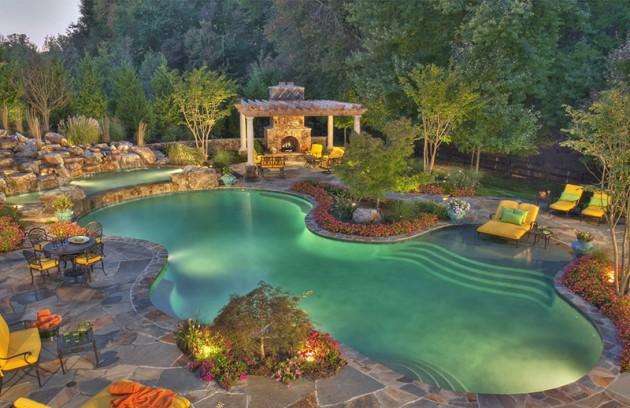 40 ides pour avoir une piscine de rve
