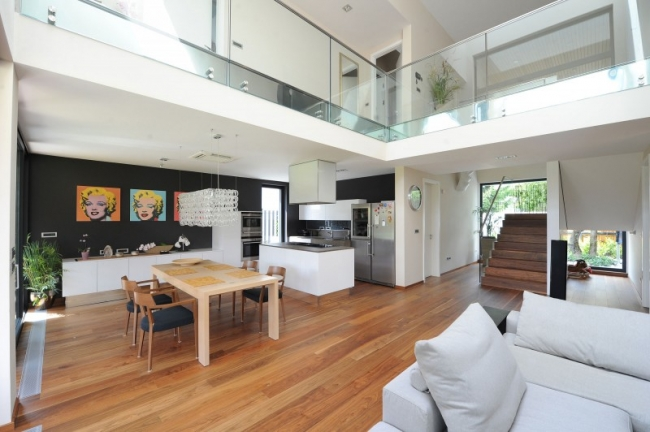 Ides pour dcorer une maison contemporaine noire