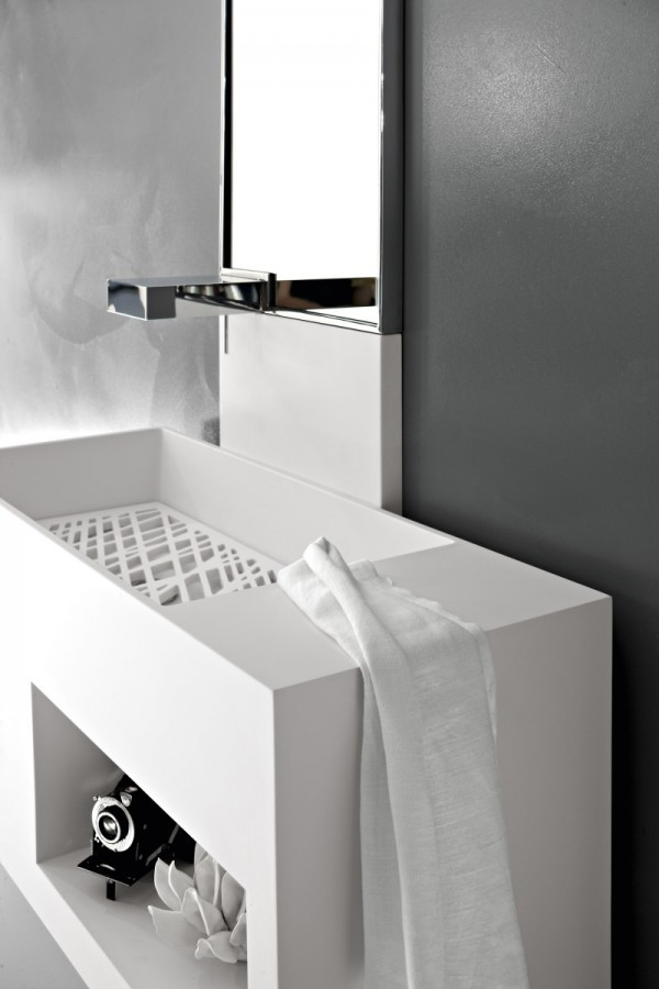 Salle de bain Italienne ultra moderne