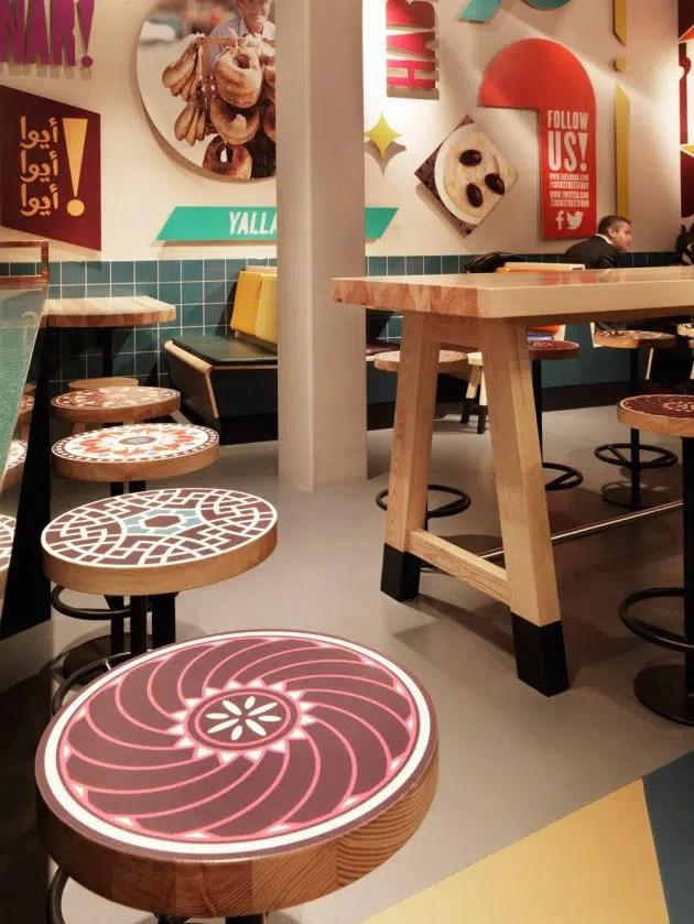 Ides Dcoration Restaurant SOOK Fast Food Concept