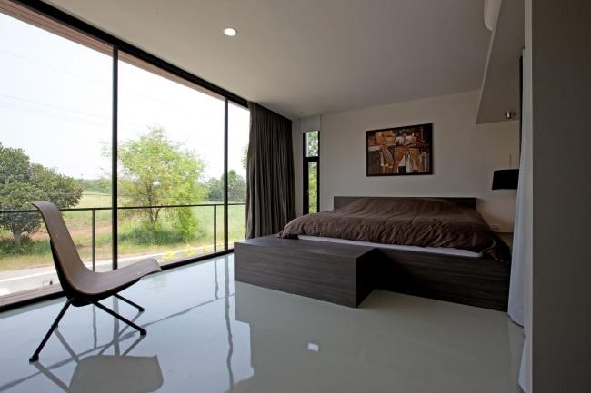30 maisons modernes avec des grandes baies vitres