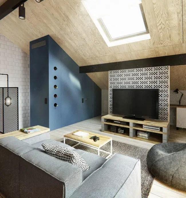 Dcoration dun appartement au style Scandinave et Industriel