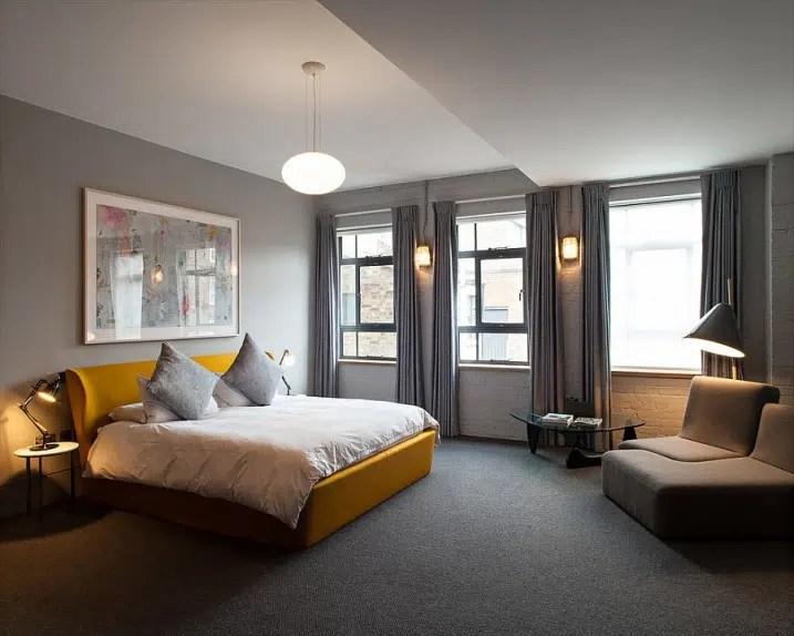 Ides Dco pour une chambre jaune et grise