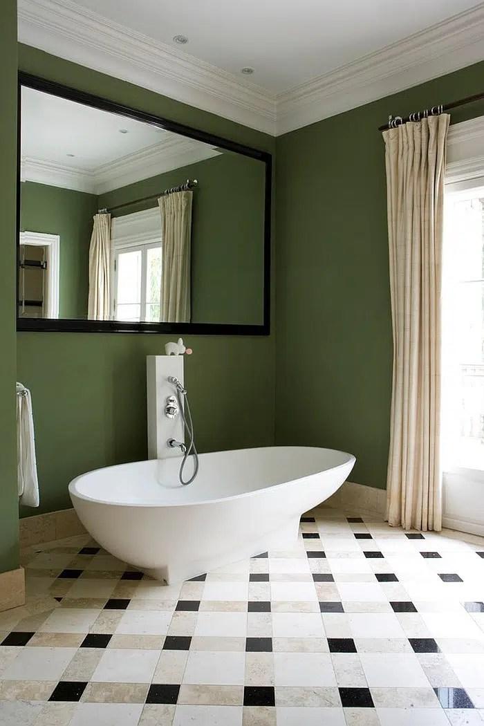 Idees Decoration Pour Une Salle De Bain Verte