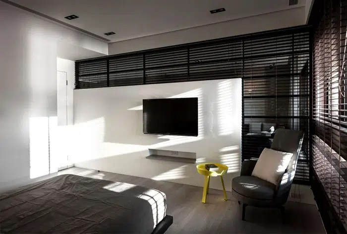 Dcorer un appartement avec des meubles noirs