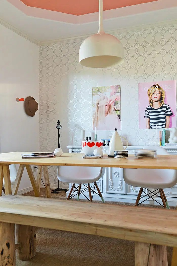 Bureau en bois style scandinave