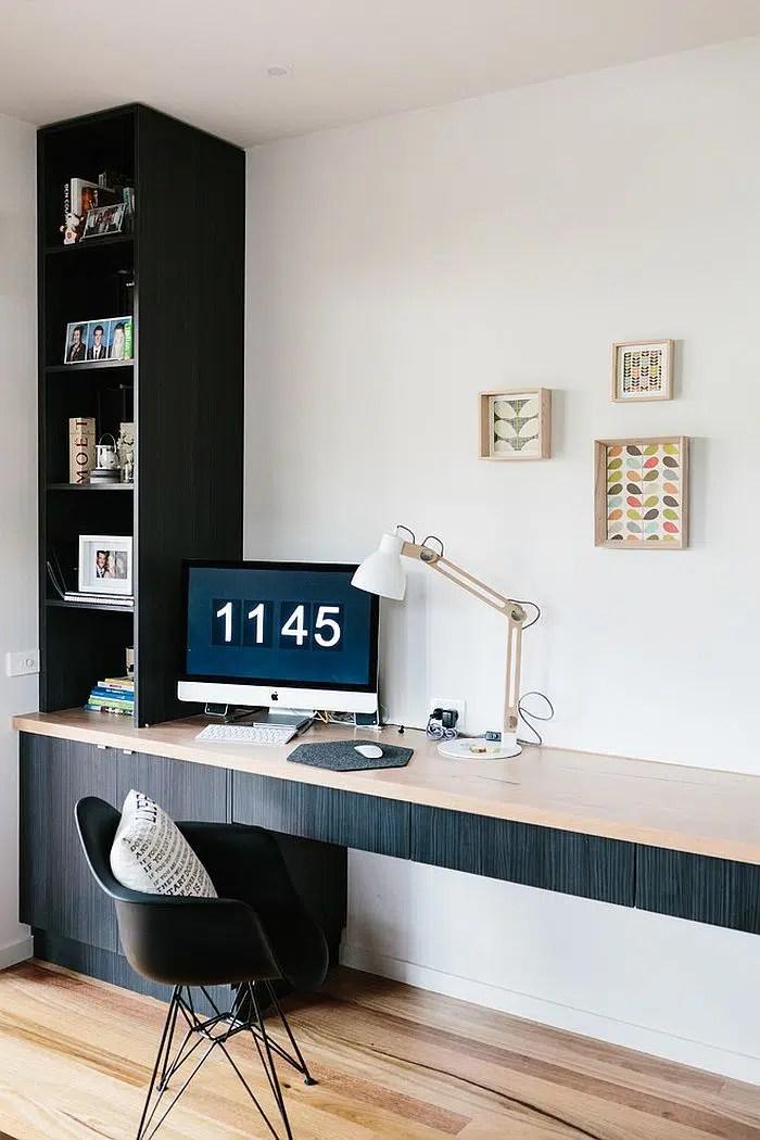 Chaise de bureau noir Eames