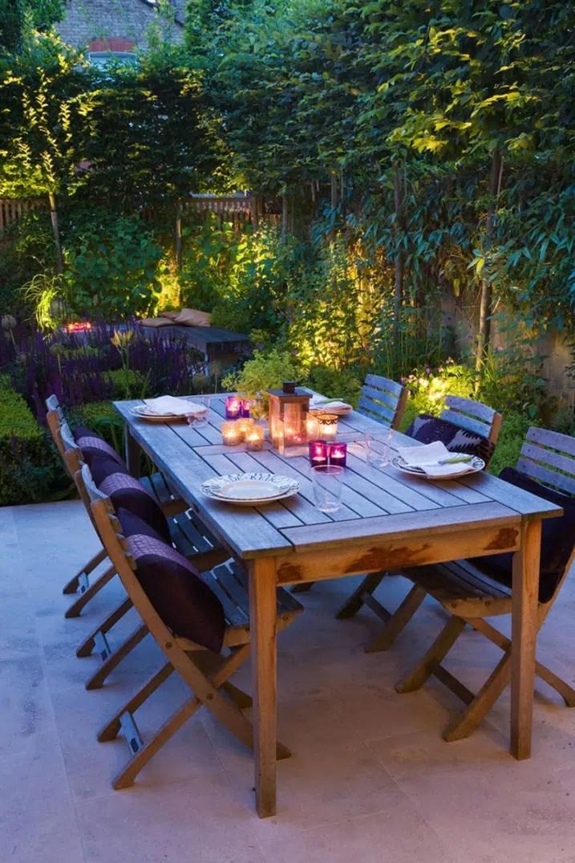 Table Jardin Teck Toulouse