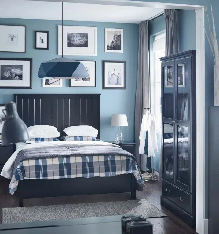 Chambre Bleu IKEA 2016