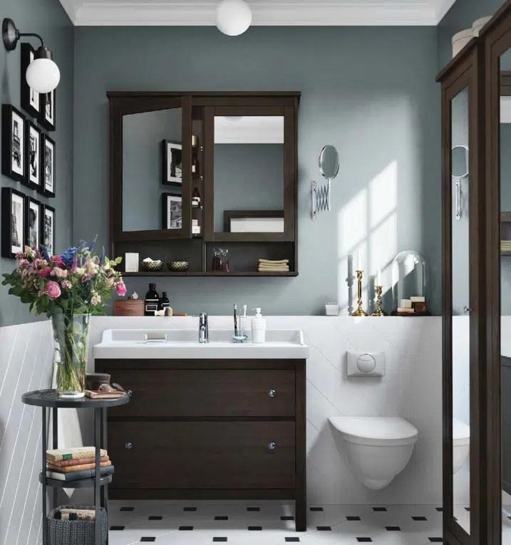 Salle de bain bois IKEA 2016