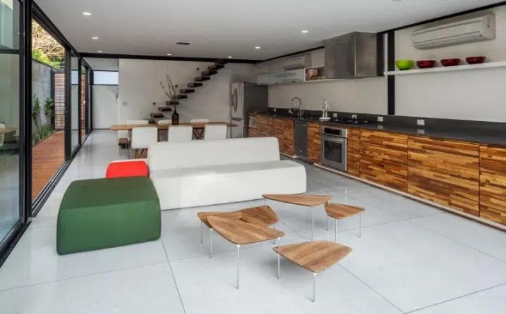 plan de travail cuisine terrazzo