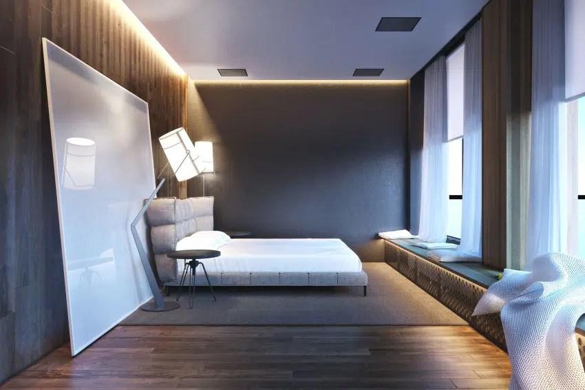 Ides pour dcorer une chambre  coucher masculine
