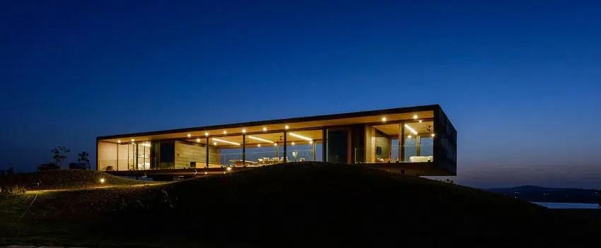 Maison contemporaine panoramique de Ajay Sonar