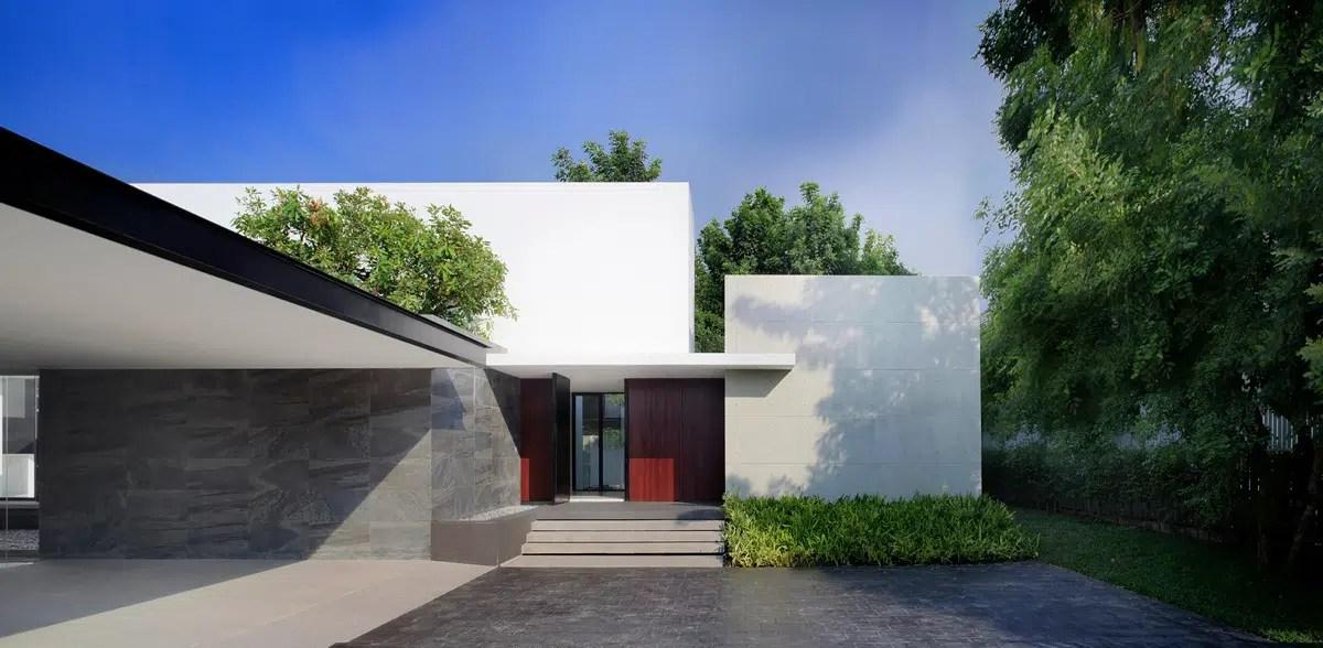 maison contemporaine au style japonais