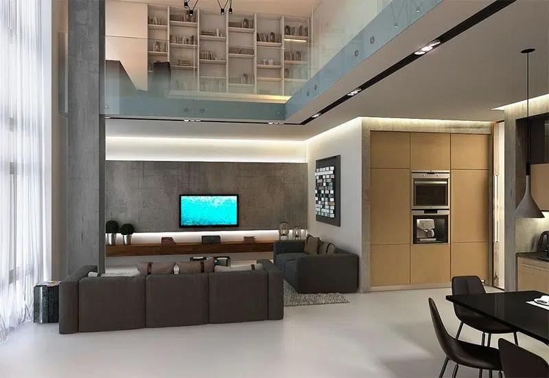 4 magnifiques lofts en duplex avec dimmenses fentres