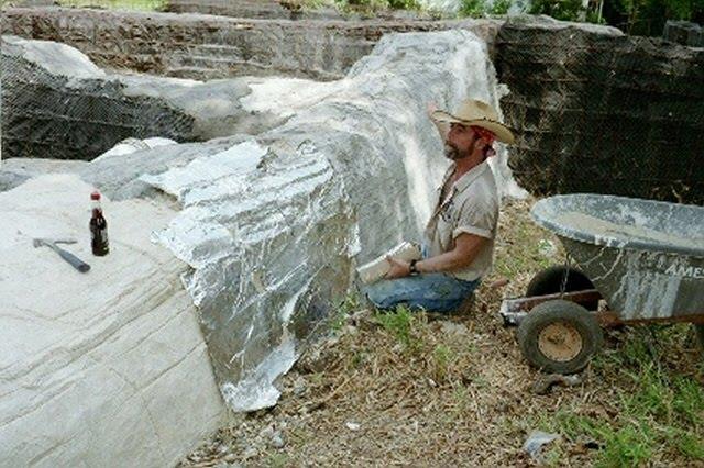 tutoriel diy creer des faux rochers au