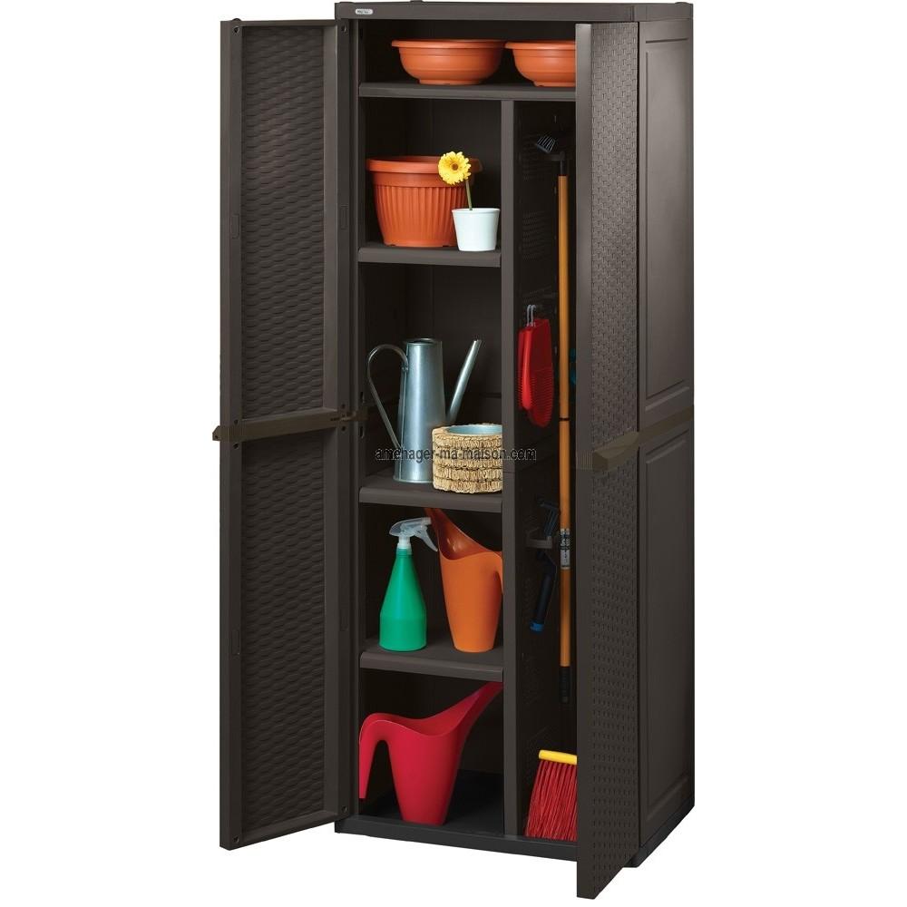 armoire de rangement en resine