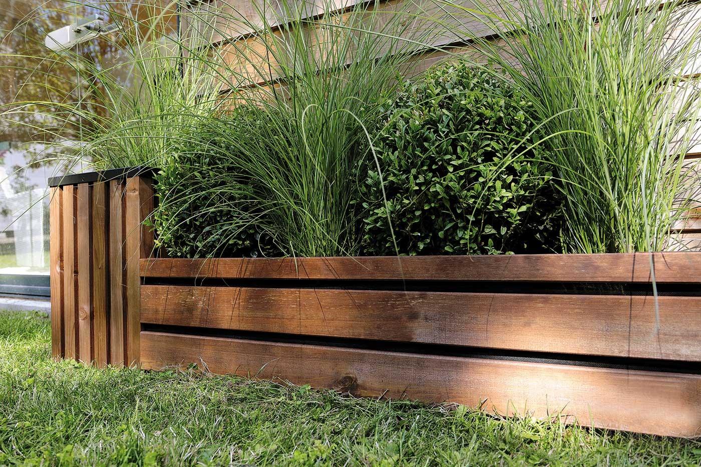 Bordure bois  planter 2343 x 100 cm