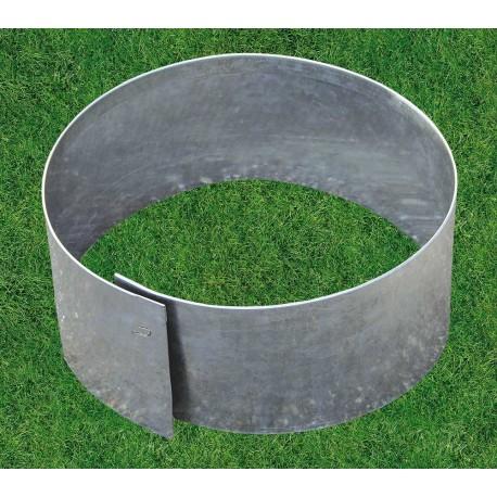 bordure de jardin circulaire et flexible en acier galvanise 30 x 0 065 x 13 cm