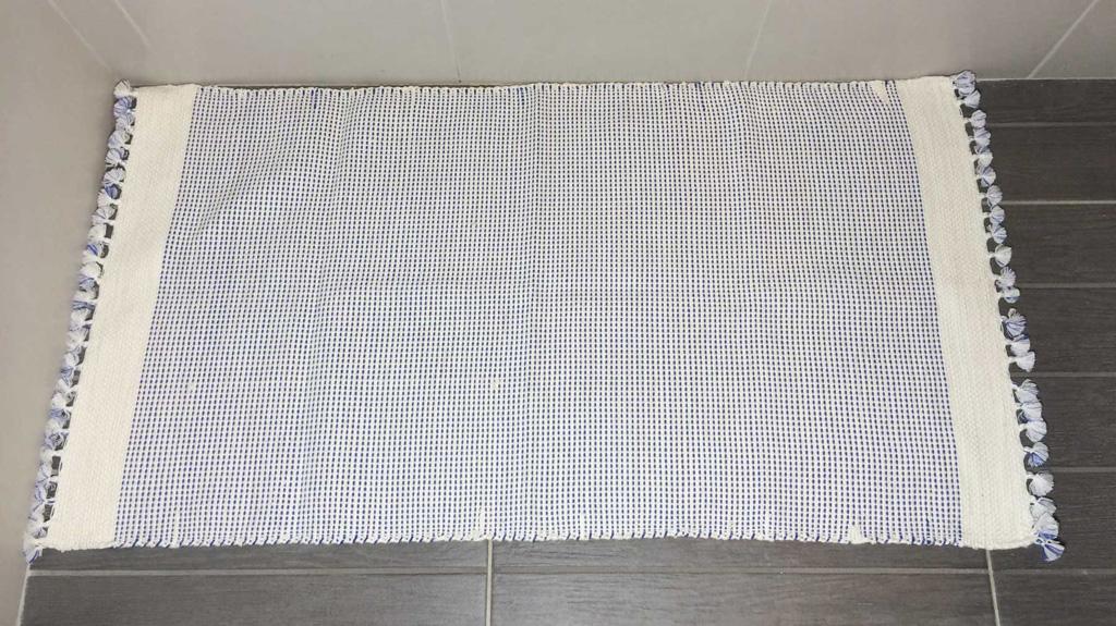Tapis salle de bains 90 x 50 cm