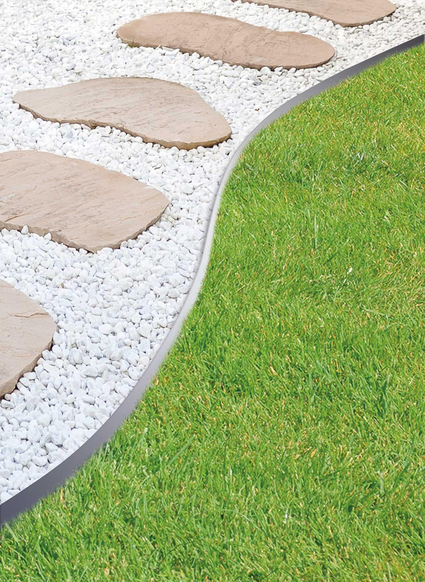 bordure acier pour la pelouse