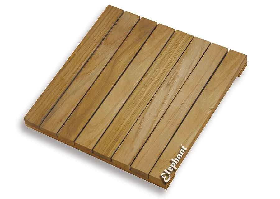 dalle bois teck pour terrasse