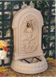fontaine pierre reconstituée murale