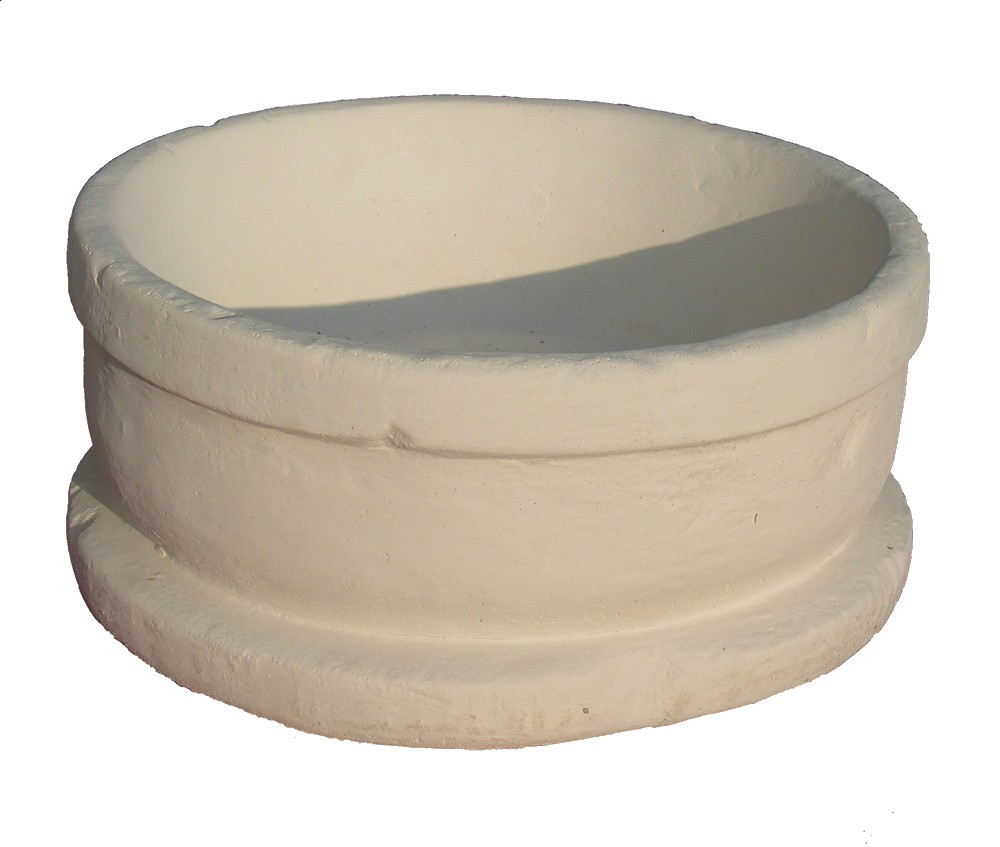 jardinière pierre reconstituée ronde