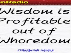 Wisdom is profitable to direct