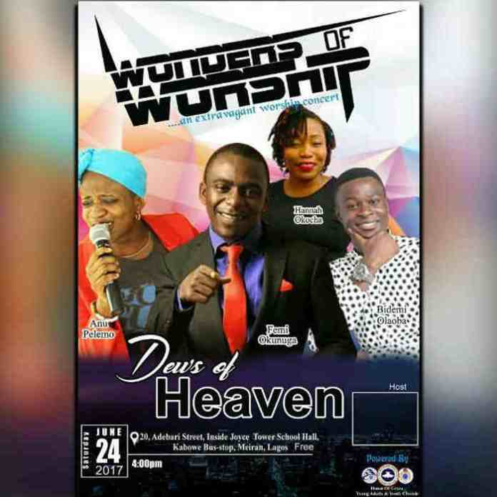 News: WONDERS OF WORSHIP AT RCCG HOUSE OF GRACE ASSEMBLY