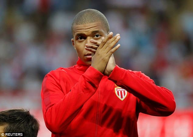 Kylian Mbappe is valued at £160m just at the age of 18 [www.AmenRadio.net]