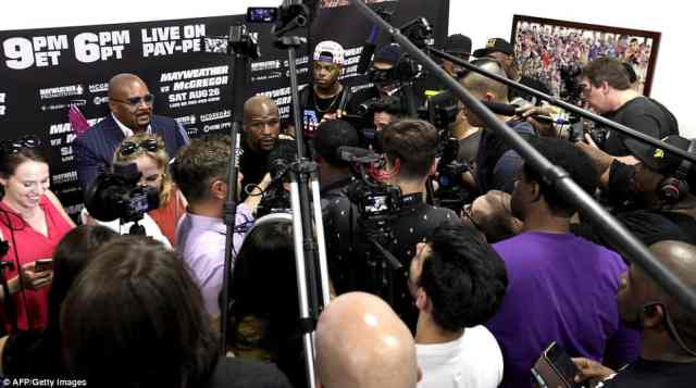 Mayweather warned McGregor is confidence will mean nothing [www.AmenRadio.net]