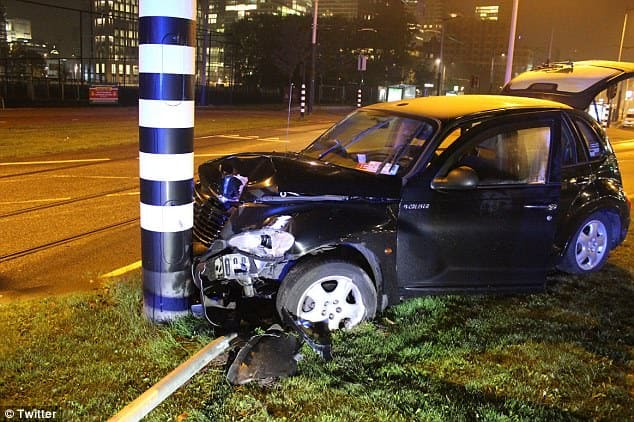 Sergio Aguero has been reportedly injured in an accident in Amsterdam [www.AmenRadio.net]