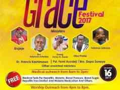 Amazing Grace Festival Presents Free Medical Mission.
