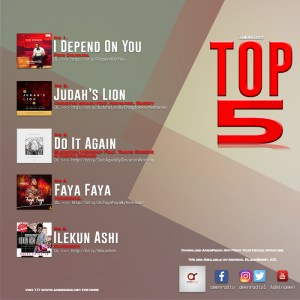 Gospel Music: Top 5 Gospel Songs on AmenRadio for January 2018 | AmenRadio.net