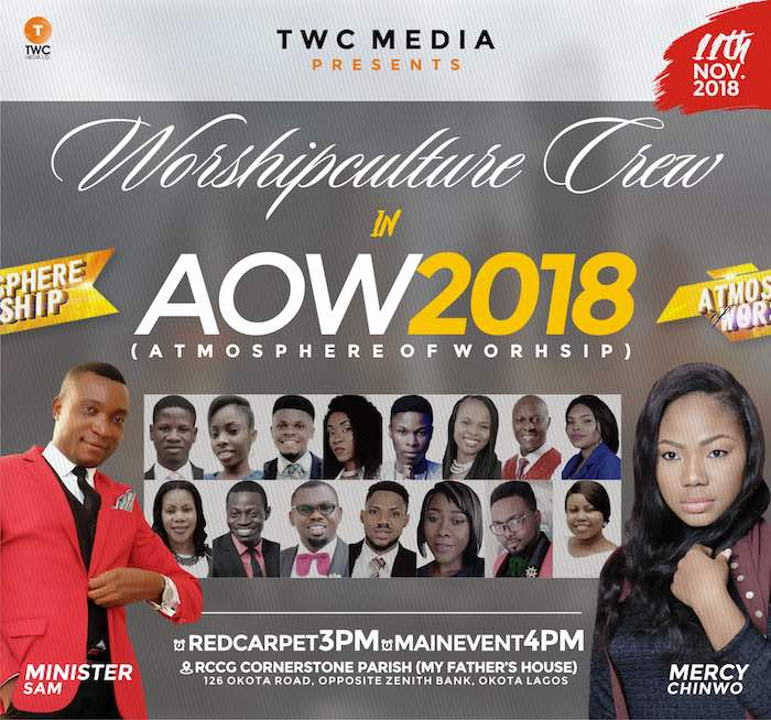 Event: TWC Media To Host Atmosphere Of Worship 2018   AmenRadio.net
