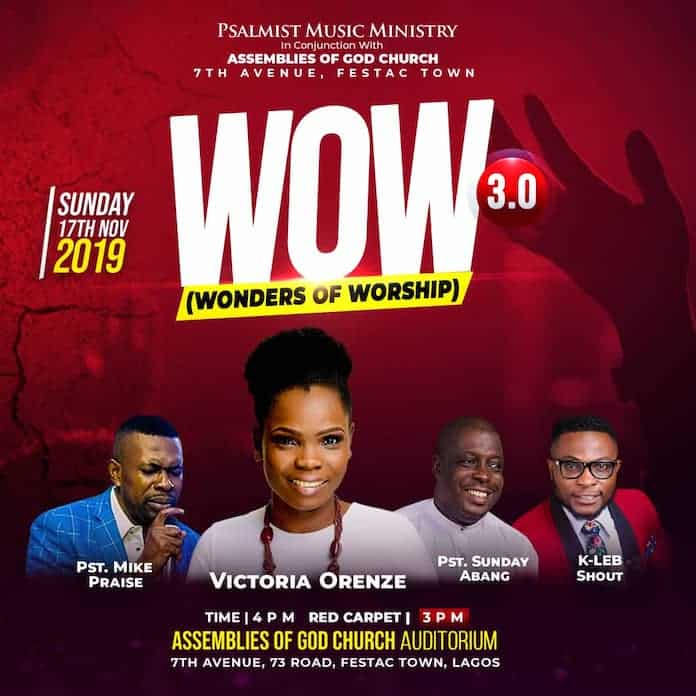 Wonders of Worship (W.O.W 3.0)