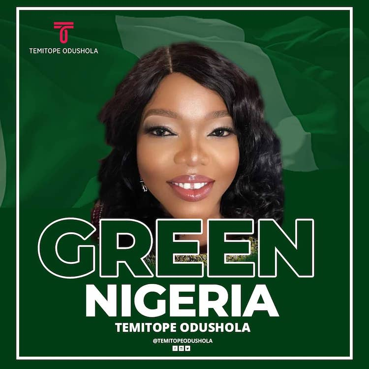 Green Nigeria - Temitope Odushola