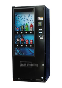 Vendo 621 Live Display Soda Machine