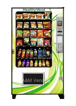 New Healthy Vending Machines