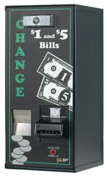vending change dispenser AC500 - American Changer Model AC 500