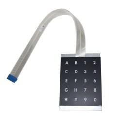 ALPHA NUMERIC KEYPAD2 - Alpha Numeric Keypad