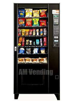 "ams35 used snack food machine - Refurbished AMS 35"" Snack-Food Machine"