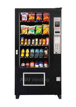 "ams35combobig opt - AMS 35"" Combo Vending Machine"